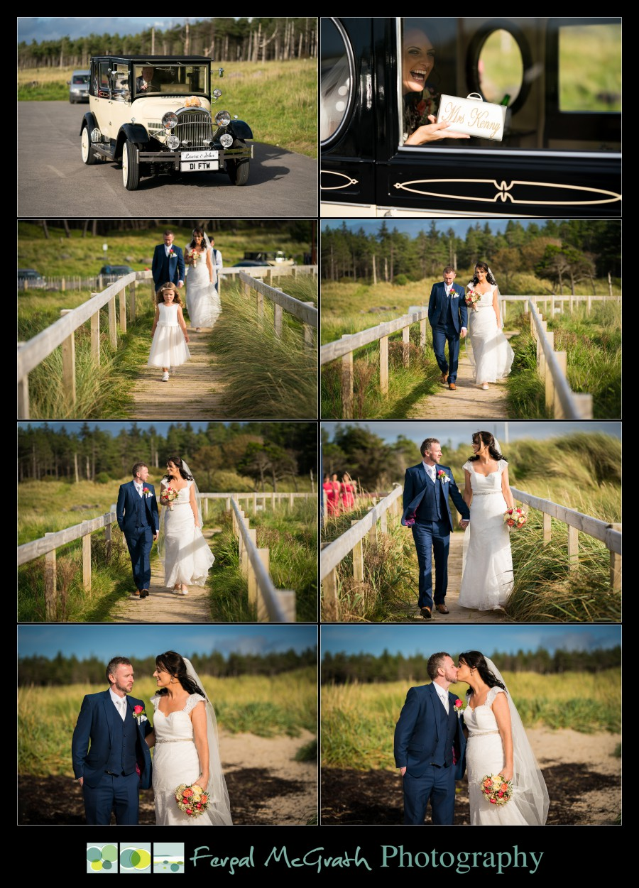 Mill Park Hotel Wedding Laura + John murvagh beach wedding