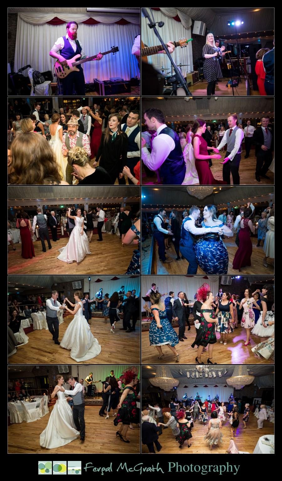 Harveys Point Hotel Winter Weddings photos taken on the dancefloor at the wedding