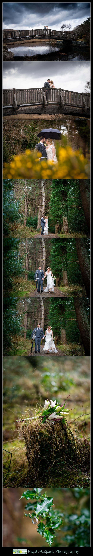 Glenveagh National Park Wedding bride and groom enjoying the rain on their donegal wedding day