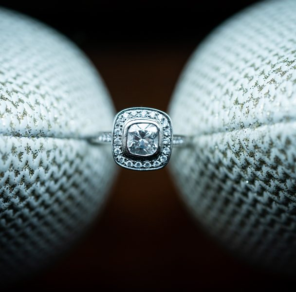 engagement ring photo by donegal wedding photographer