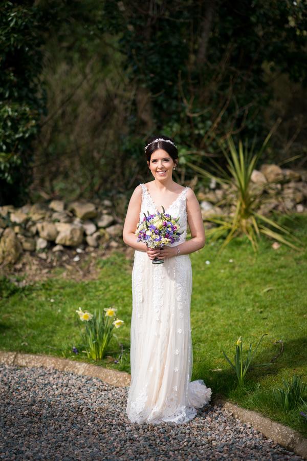 stunning ballyshannon bride portrait