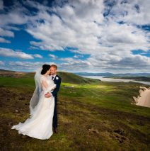 malin wedding bride and groom photo