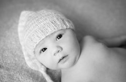 donegal and sligo newborn photographer baby in a cute hat photo