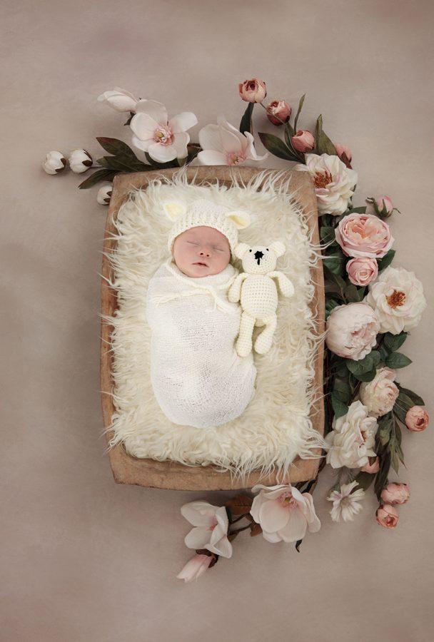 donegal newborn photographers baby girl photo