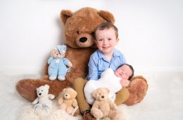 donegal and sligo newborn photographer brothers image