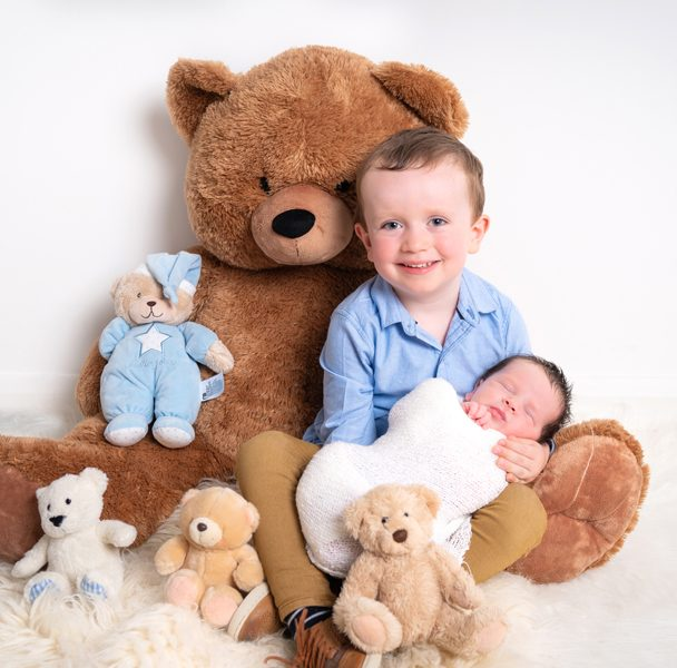 donegal and sligo newborn photographer brothers image