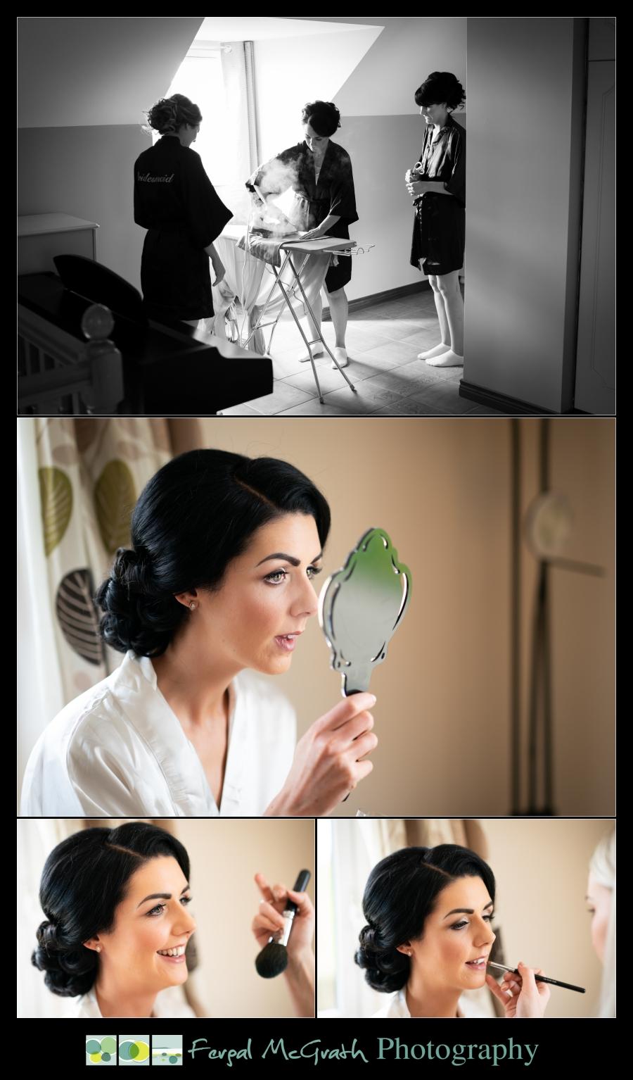 Ballyliffin Lodge Hotel Weddings bride getting ready photos