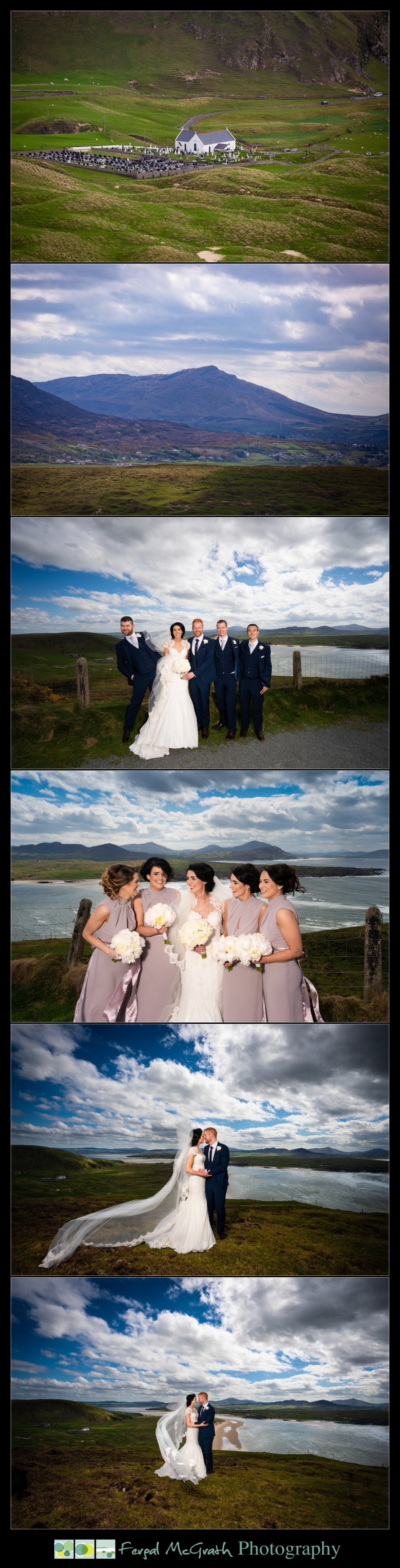 Ballyliffin Lodge Hotel Weddings amazing wedding photos in the donegal landscape