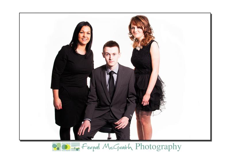 Niamh, Lorcan and Teresina