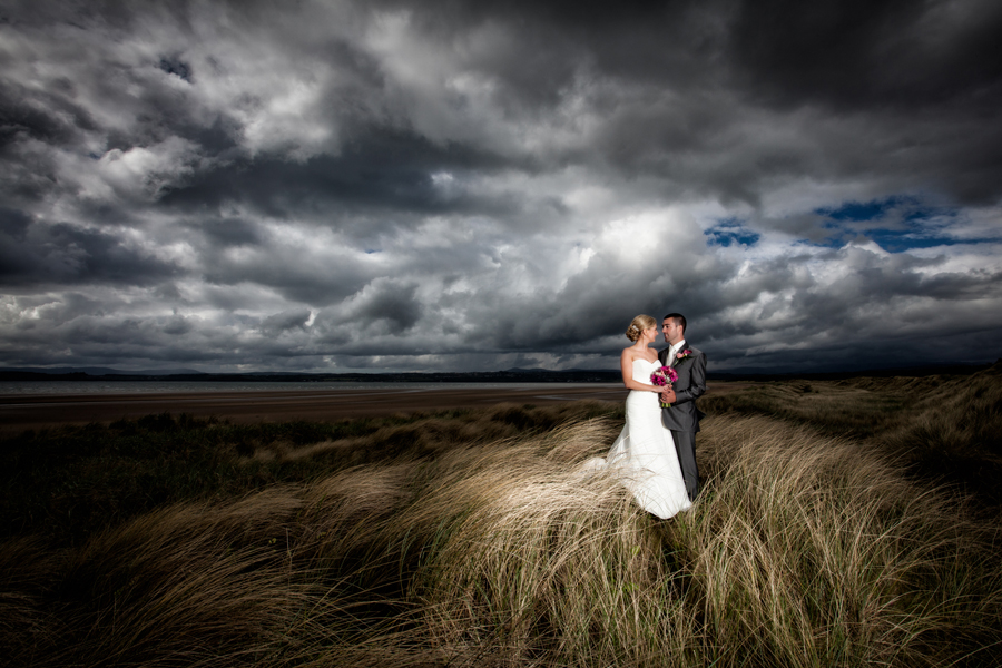 best friend beach pictures ideas - donegal wedding photography couple on murvagh beach
