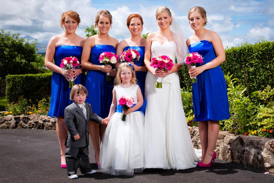 mill park hotel weddings bride and bridesmaids