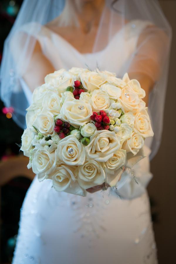 Donegal Wedding Brides Bouquet For Winter Wedding