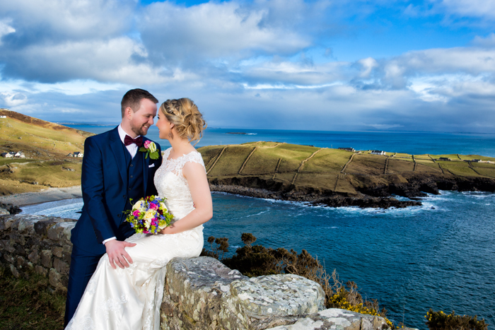 Mill Park Hotel Donegal Wedding Photography bride and groom