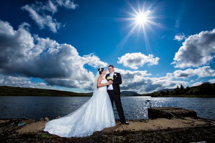 donegal wedding photographer villa rose hotel wedding