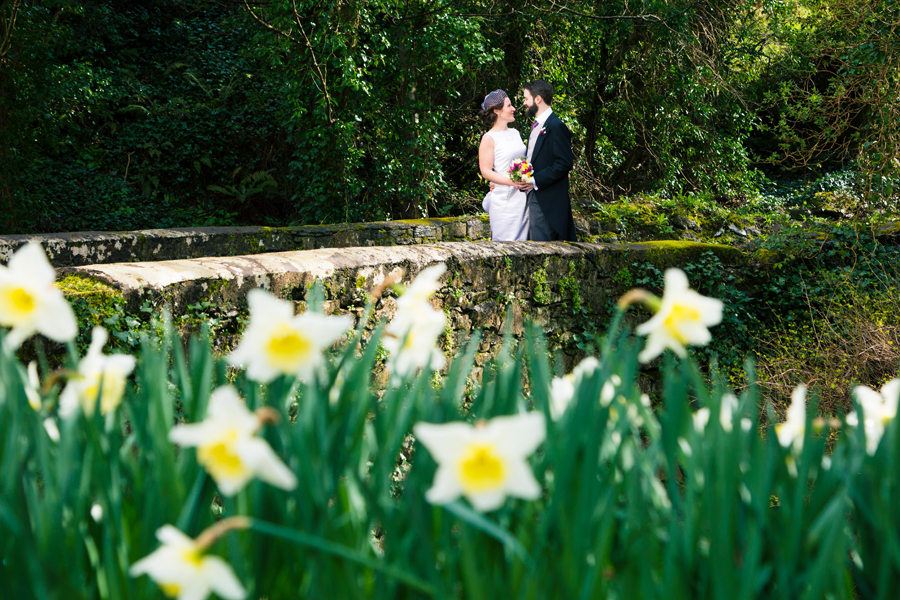 spring wedding in Donegal