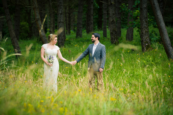 beautiful natural wedding photography in donegal