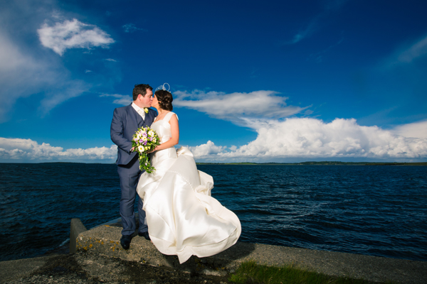 sligo wedding photographer wedding photo in rosses point