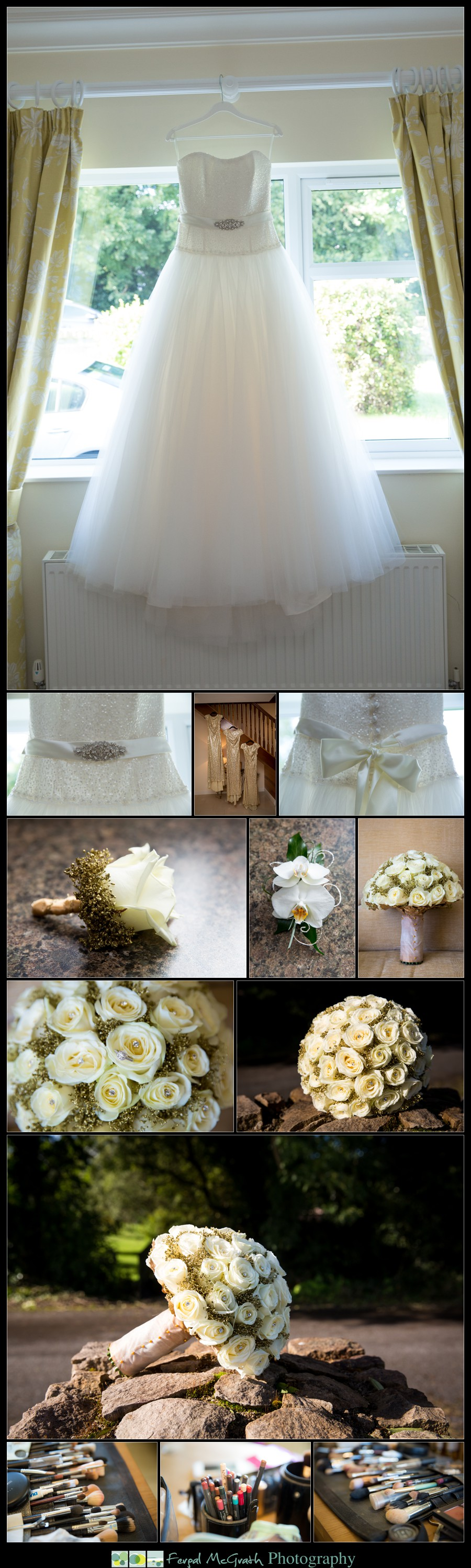 Great Northern Hotel Bundoran Wedding Niamh and Khalil brides wedding dress