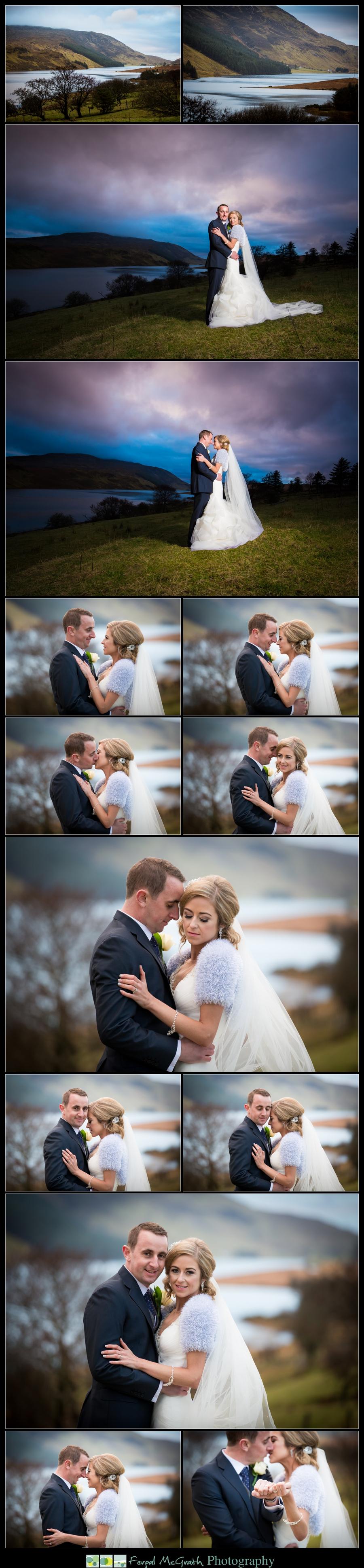 Silver Tassie Hotel Christmas Wedding photos taken in Fintown