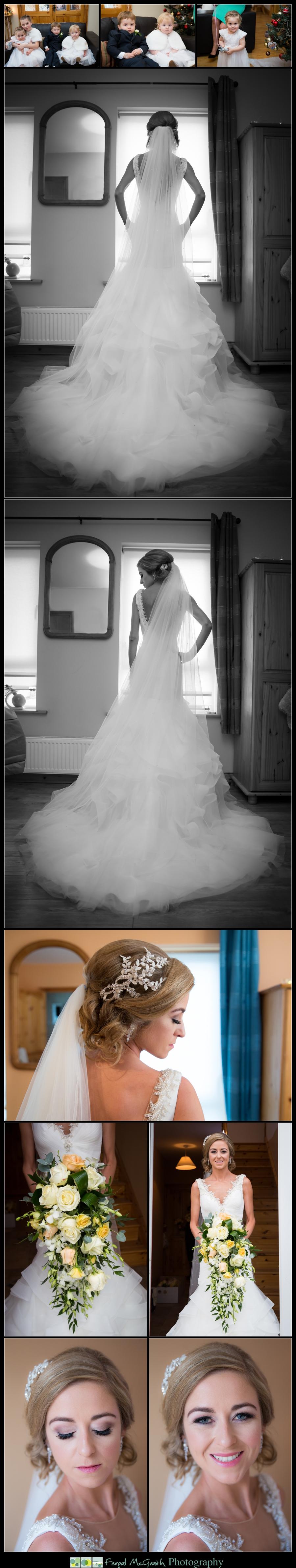 Silver Tassie Hotel Christmas Wedding brides stunning wedding dress photos