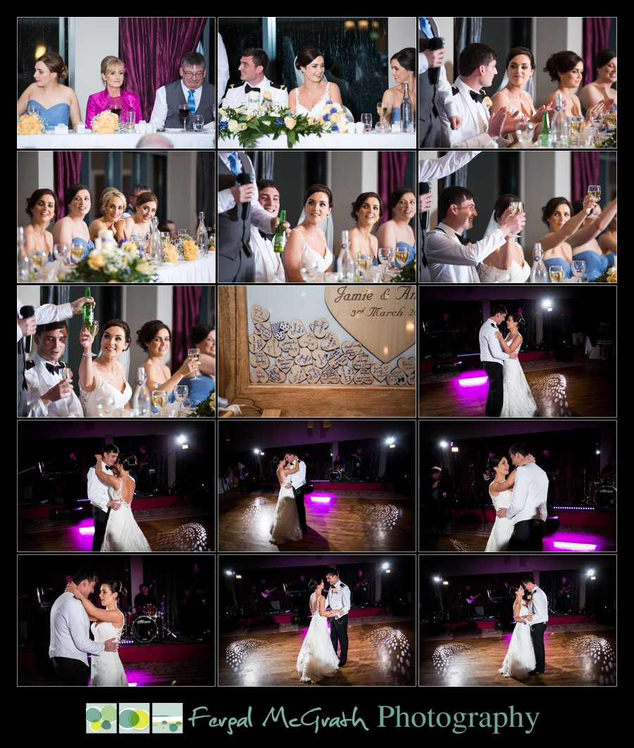 Castle Dargan Hotel Wedding Jamie and Andrew first dance wedding photos