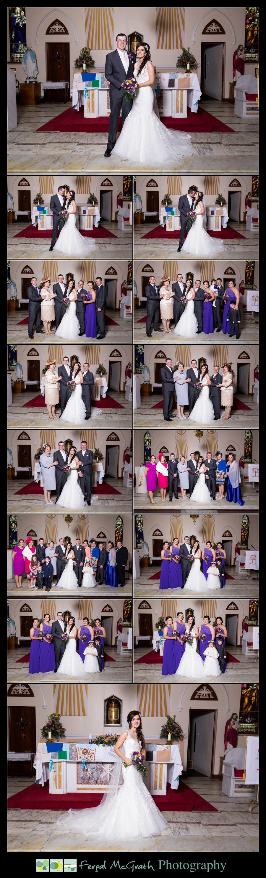 Glencolmcille wedding family photos
