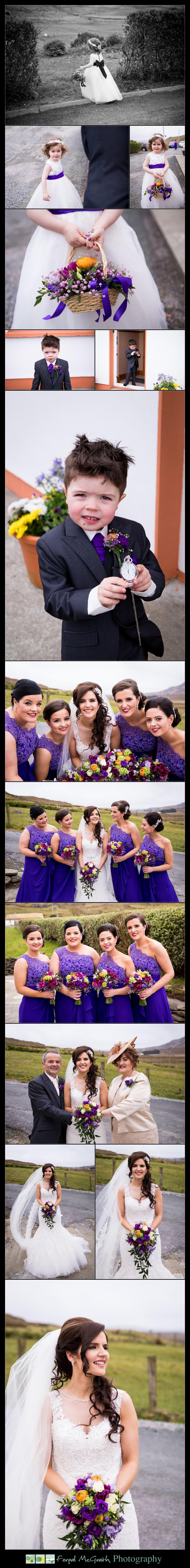 Glencolmcille wedding candid photos