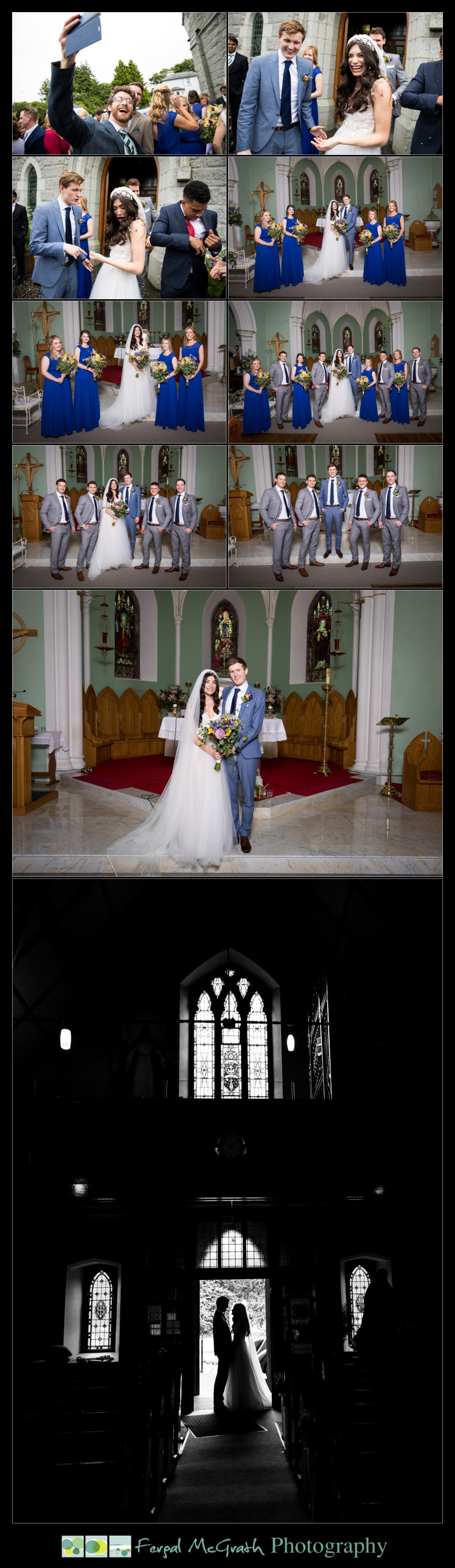 Markree Castle Wedding st johns church tubbercurry