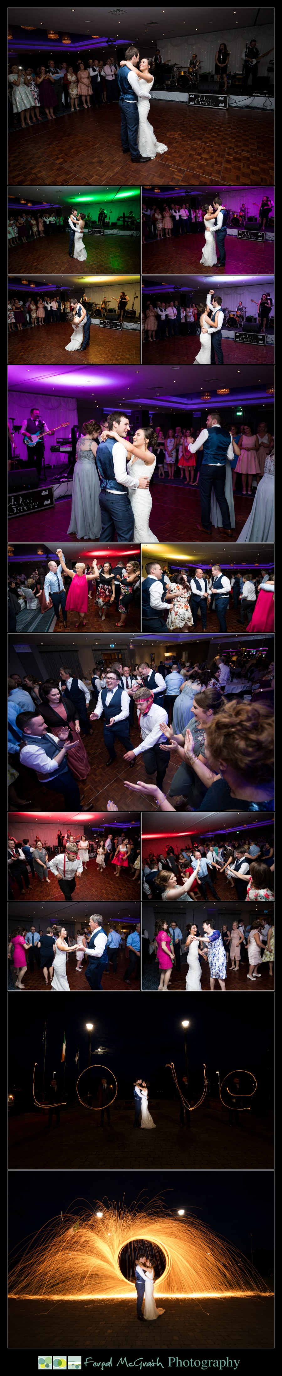 Clayton Hotel Sligo Wedding first dance photos