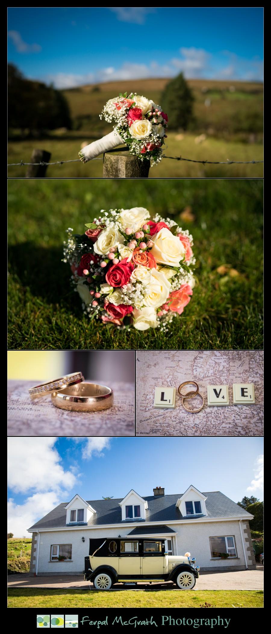 Mill Park Hotel Wedding Laura + John brides wedding bouquet