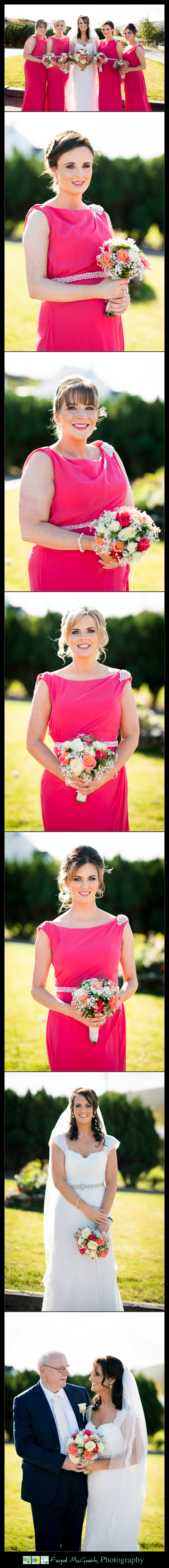 Mill Park Hotel Wedding Laura + John bridesmaids portraits