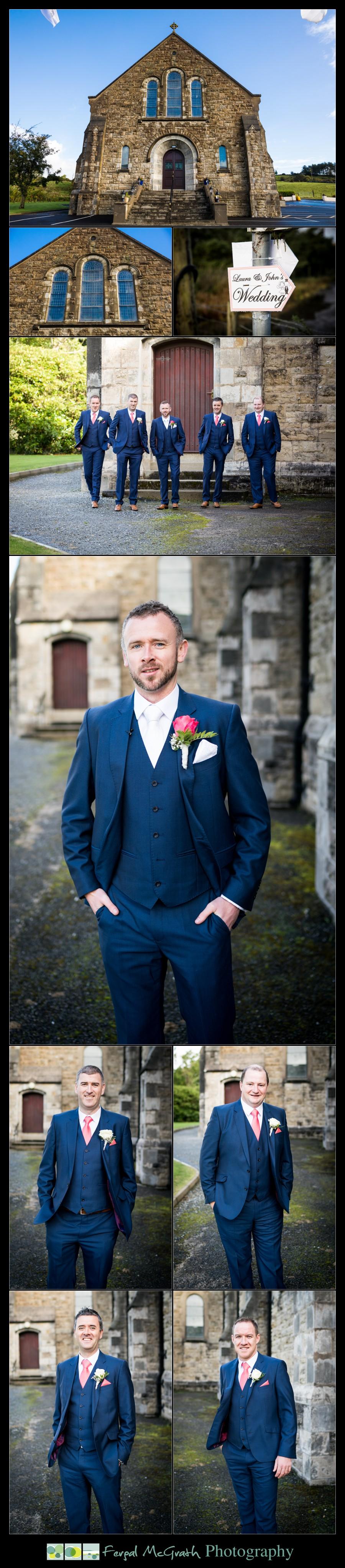 Mill Park Hotel Wedding Laura + John groomsmen photos