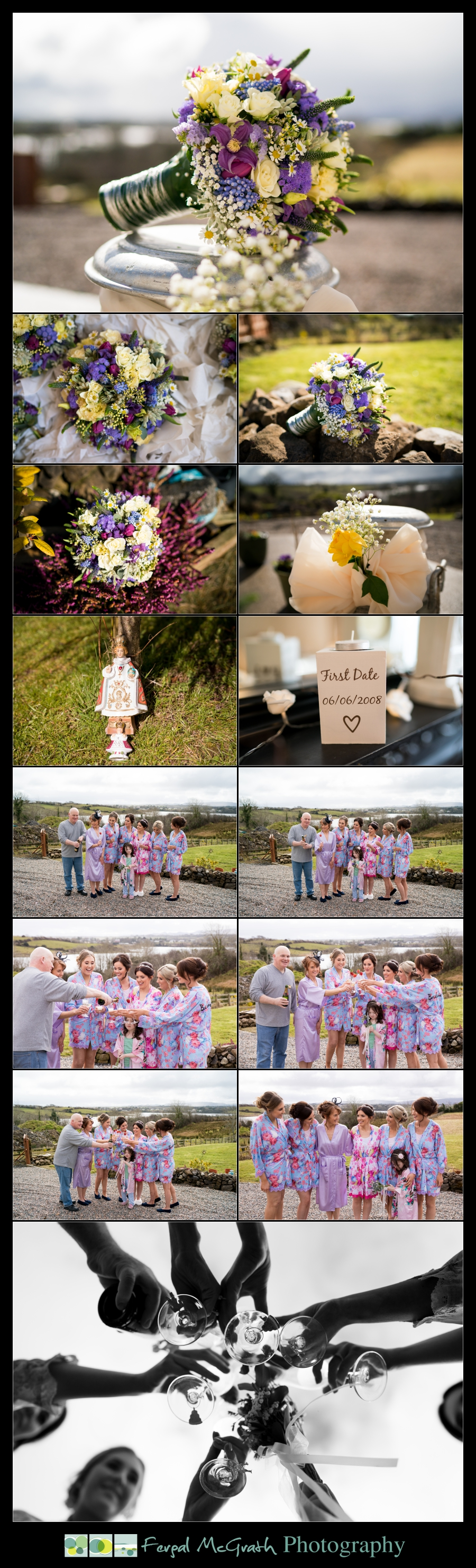 Castle Dargan Hotel Sligo Wedding brides wedding bouquet