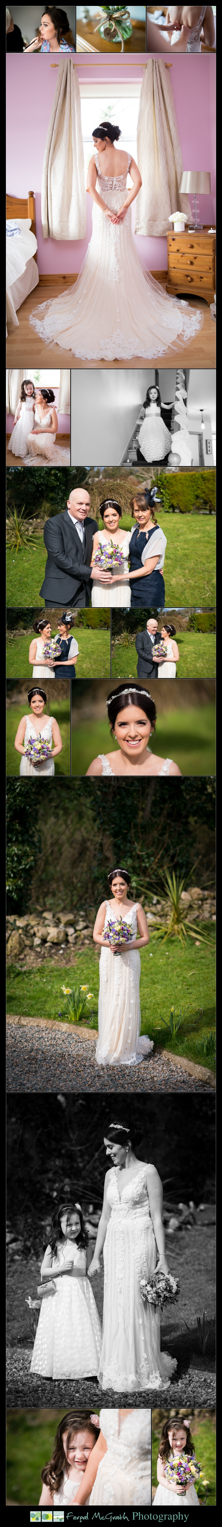Castle Dargan Hotel Sligo Wedding beautiful bride portraits