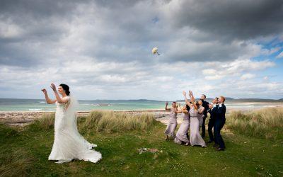 ballyliffin lodge hotel wedding bridal party fun