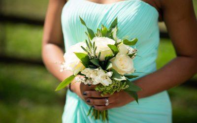 bridesmaids flower bouquet for summer