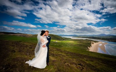 malin wedding bride and groom photo