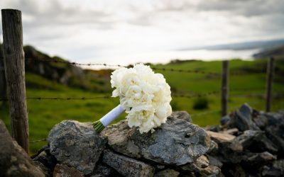 malin wedding bride bouquet