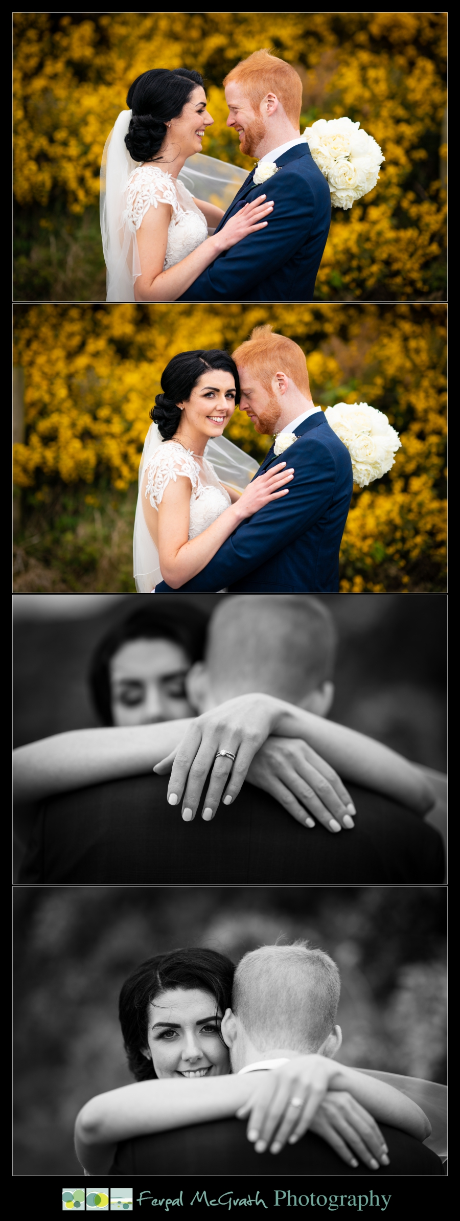 Ballyliffin Lodge Hotel Weddings bride and groom portraits