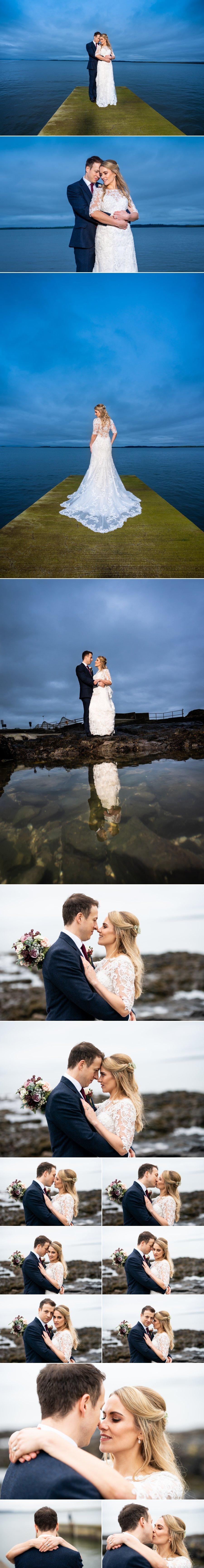 Markree Castle Sligo Wedding beautiful bride and groom photos