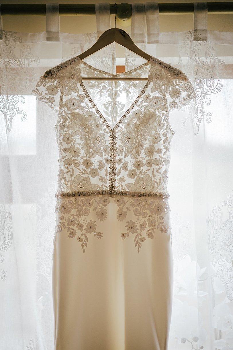 Waterfront Hotel Dungloe Wedding brides wedding dress