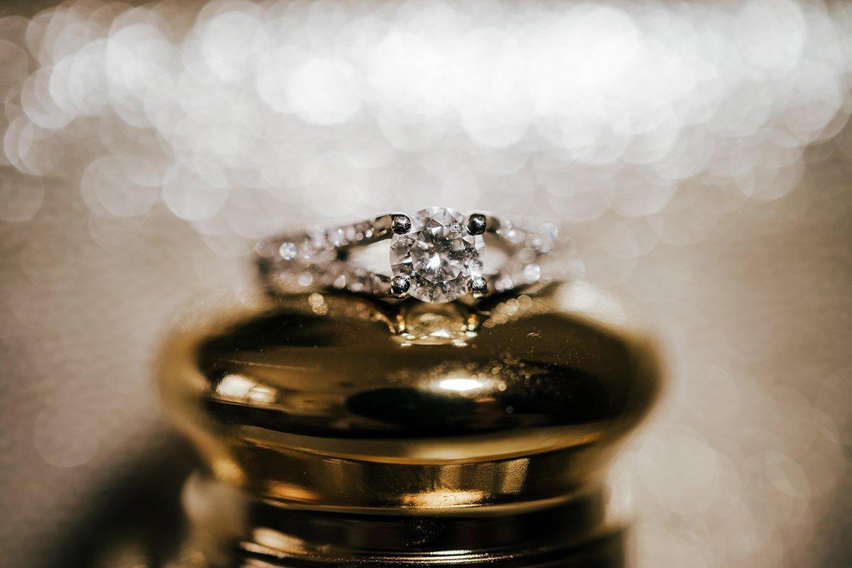 Waterfront Hotel Dungloe Wedding brides engagement ring