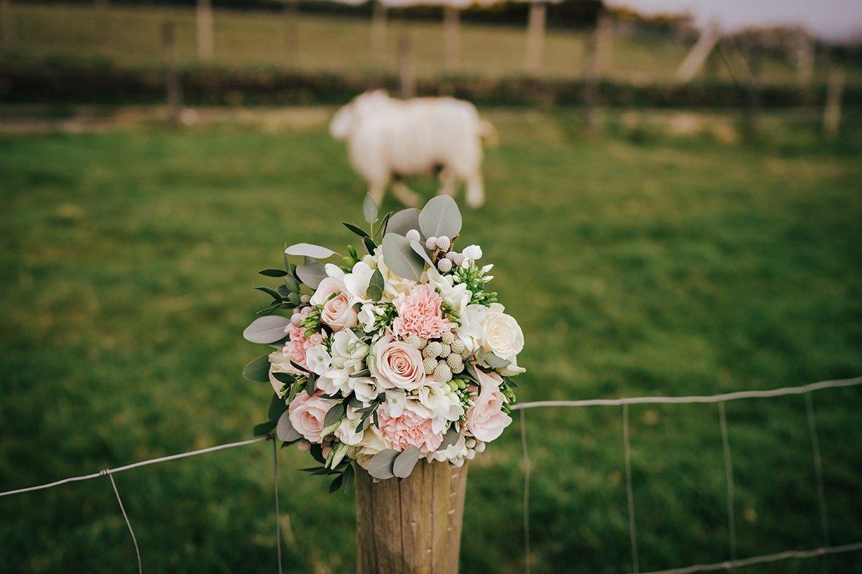 Waterfront Hotel Dungloe Wedding brides wedding bouquet