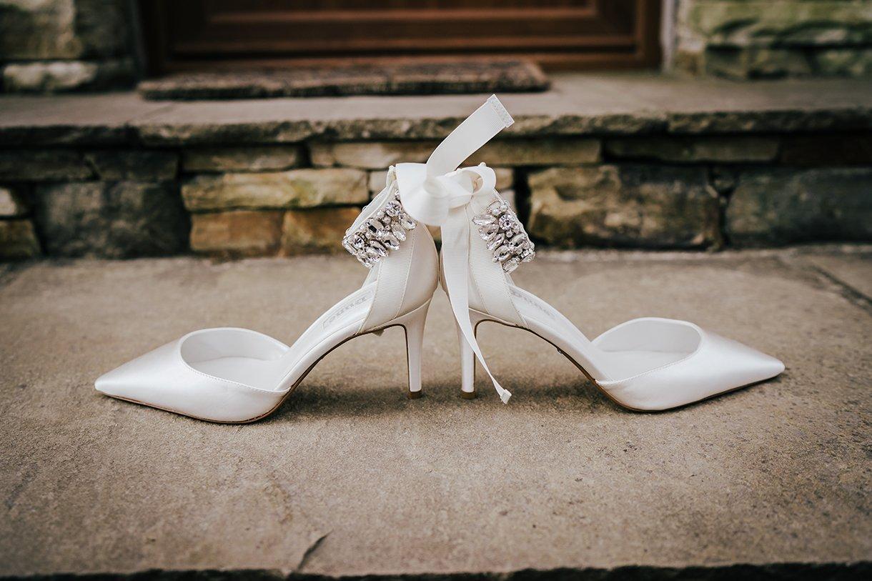 Waterfront Hotel Dungloe Wedding brides wedding shoes