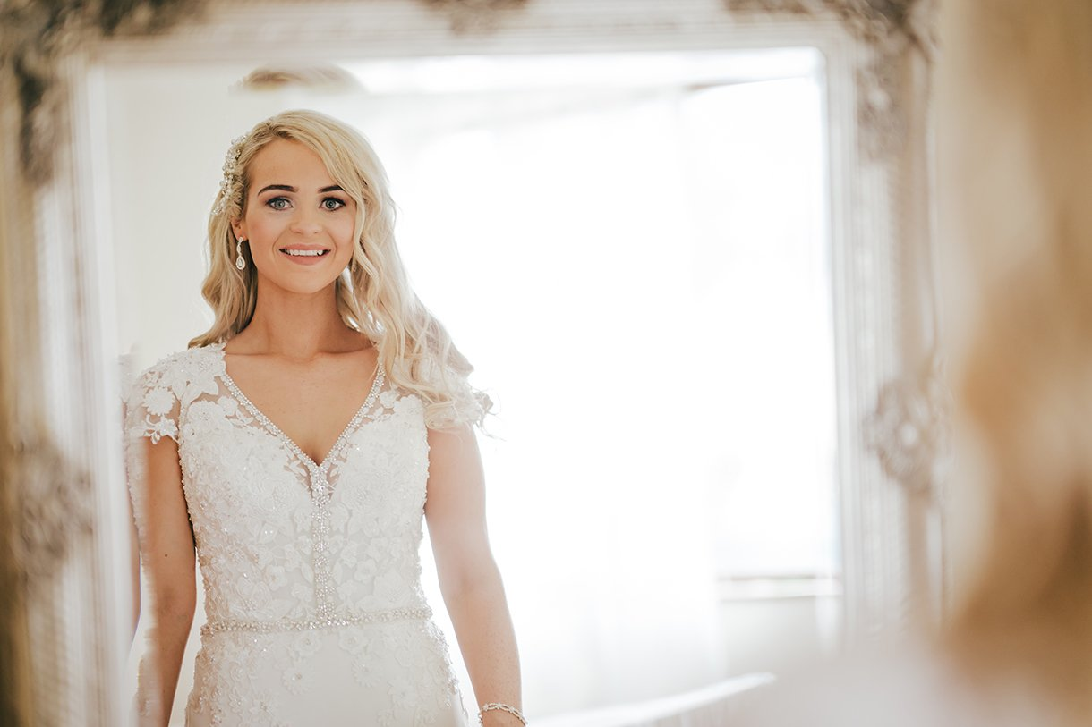 Waterfront Hotel Dungloe Wedding stunning irish bride