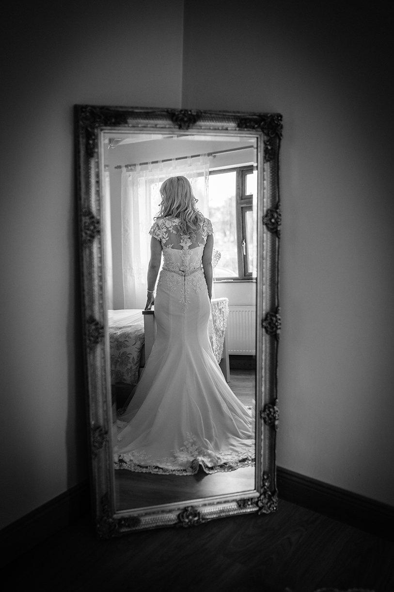 Waterfront Hotel Dungloe Wedding brides amazing wedding dress
