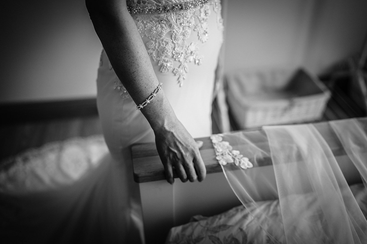 Waterfront Hotel Dungloe Wedding brides bracelet