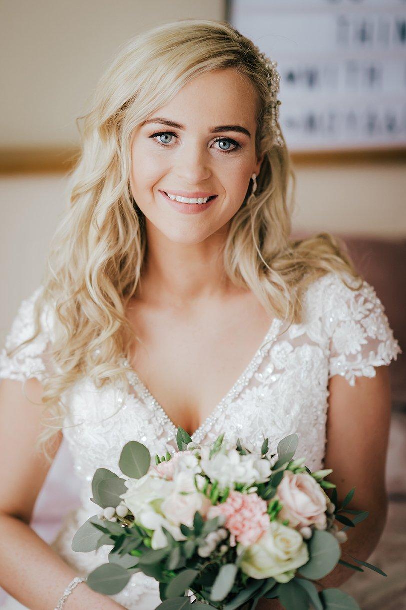 Waterfront Hotel Dungloe Wedding beautiful Irish bride portrait
