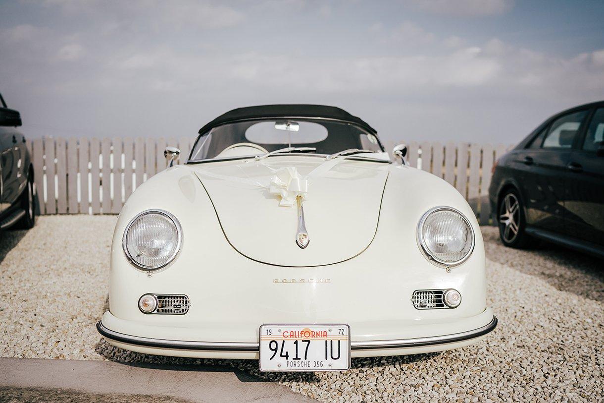 Waterfront Hotel Dungloe Wedding Porsche wedding car