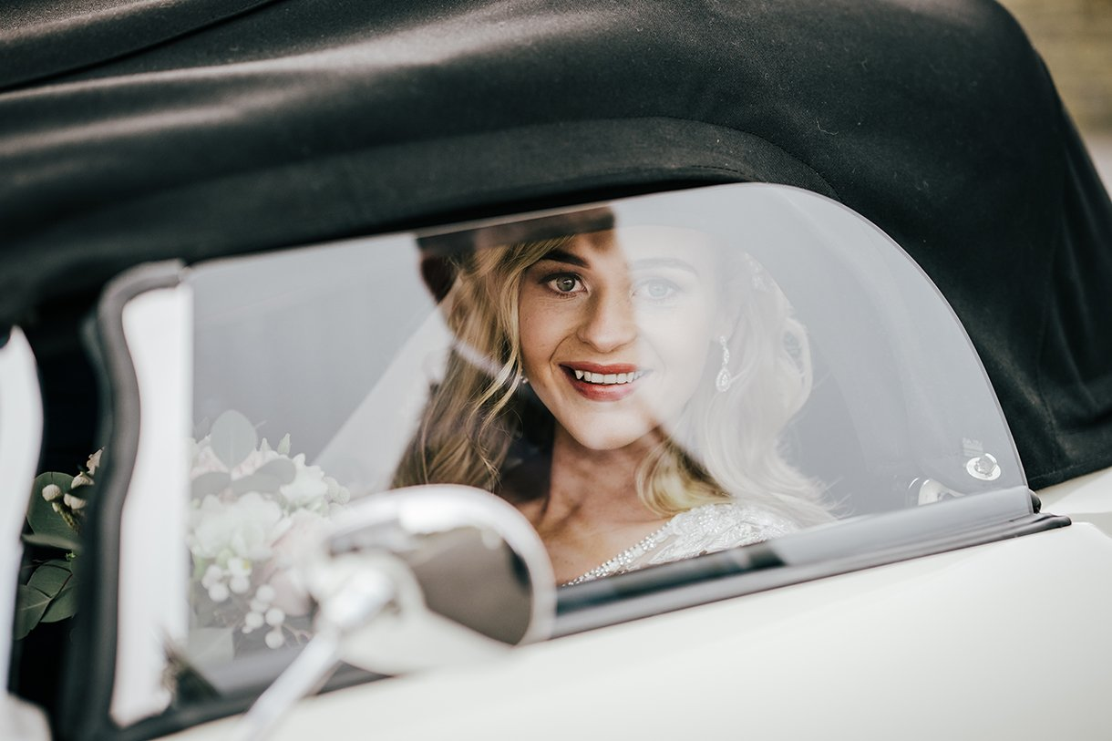 Waterfront Hotel Dungloe Wedding bride arriving at the church
